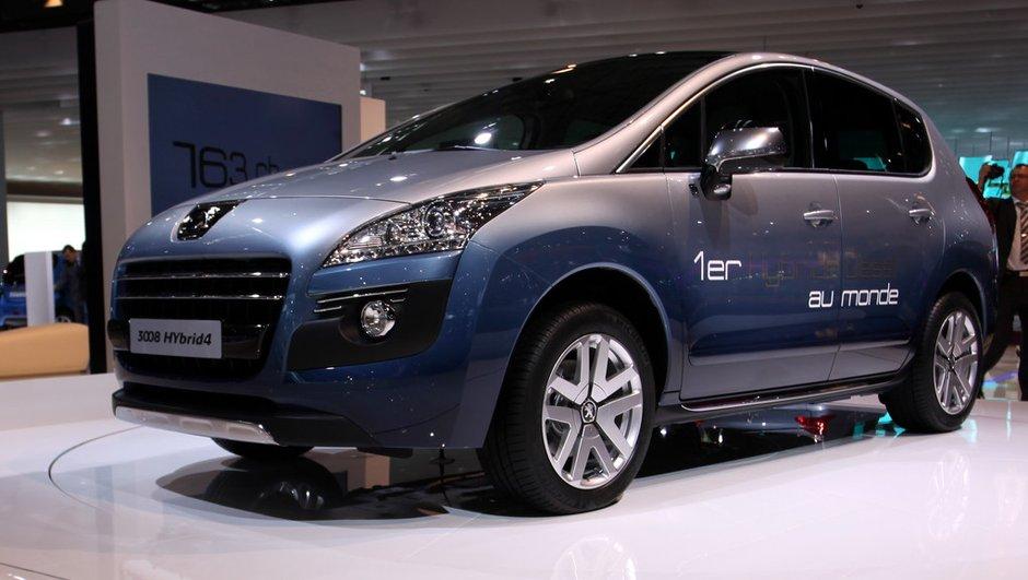Le Lion innove au Mondial de l'Auto avec le Peugeot 3008 Hybrid4