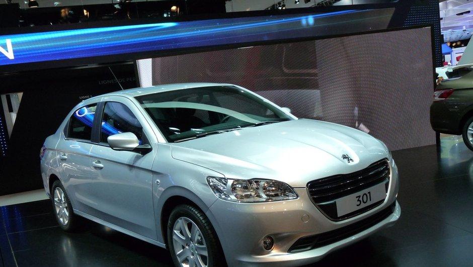 Mondial de l'Auto 2012 : avec sa 301, Peugeot s'ouvre au monde