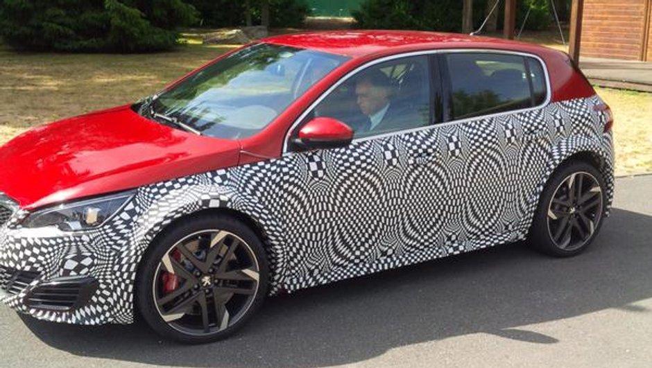Future Peugeot 308 R Hybrid : un prototype roule déjà