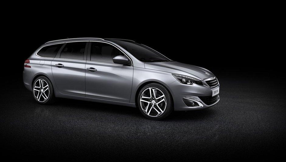 Nouvelle Peugeot 308 SW 2014 : le break mise sur le design et le coffre