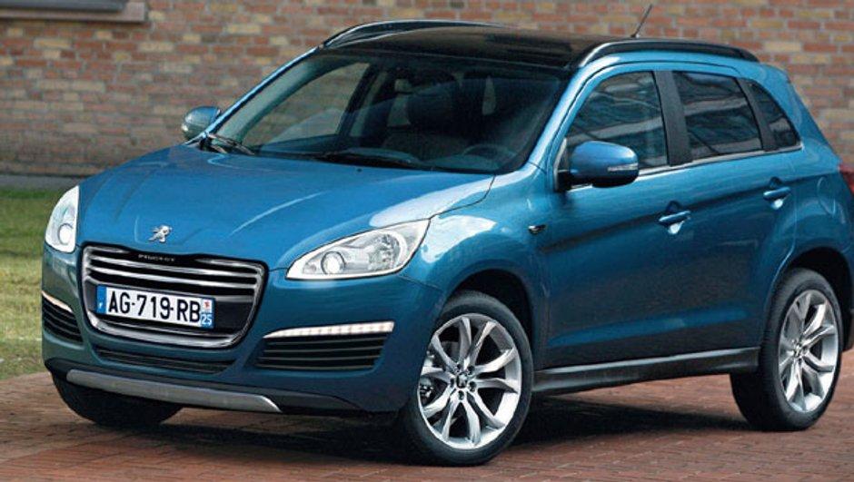 Peugeot 4008 : le futur SUV confirmé pour Francfort ?
