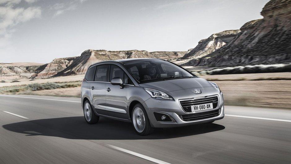 Peugeot 5008 2013 : une histoire de calandre