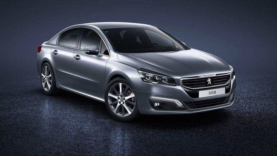 Nouvelle Peugeot 508 2014 : infos et photos officielles du restylage