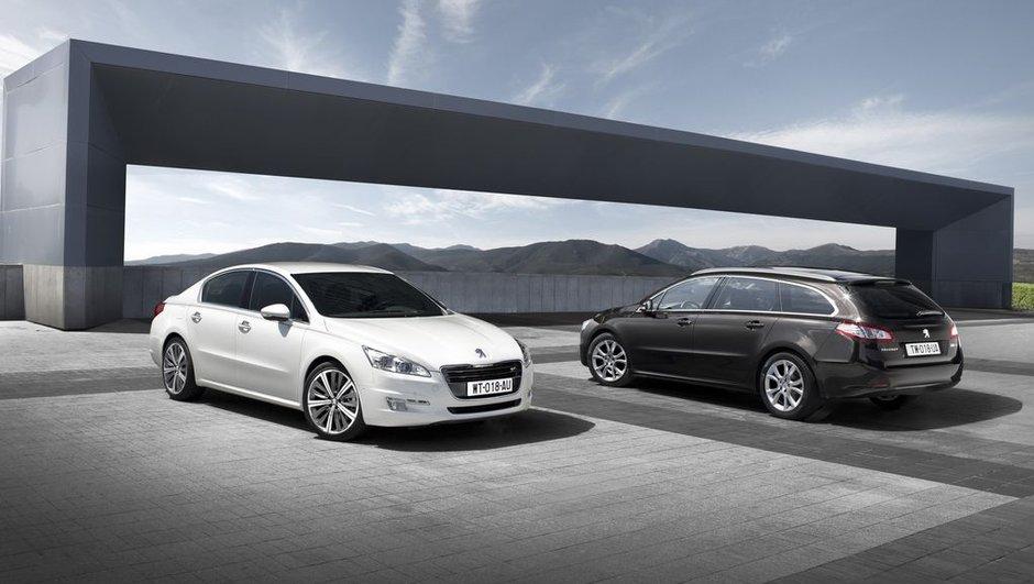 Peugeot 508 berline et SW : l'élégante sochalienne officielle