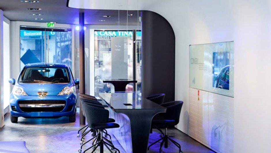Des mini concessions Peugeot pour les centres-villes