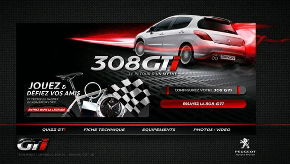 Peugeot 308 GTi : le jeu dédié au sigle mythique