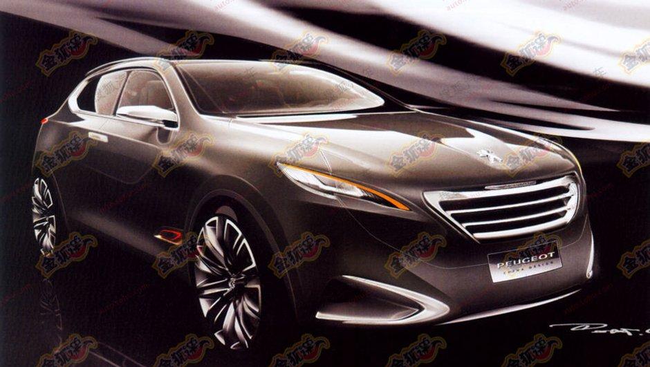 Peugeot : un concept de crossover au Salon de Shanghai ?