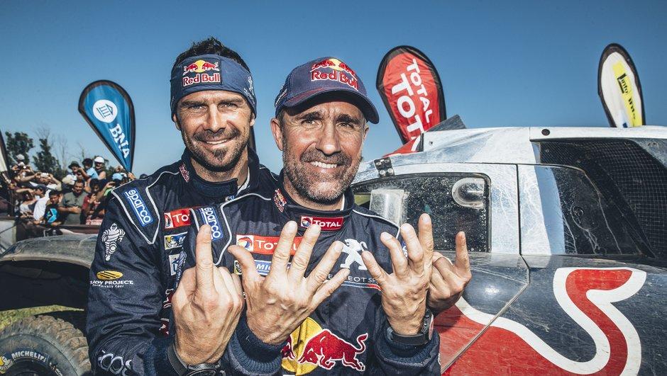 Dakar 2016 : Peterhansel, Peugeot et Toby Price sur le toit du monde !