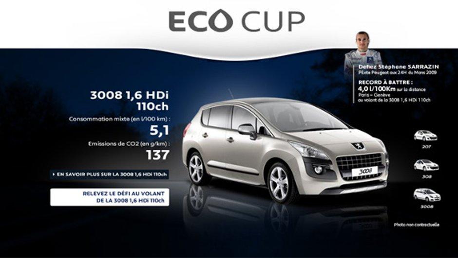 Participez à la Peugeot Eco Cup, la course à l'écologie !