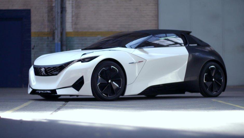 Peugeot Fractal Concept : un design sonore électrisant pour le Salon de Francfort 2015