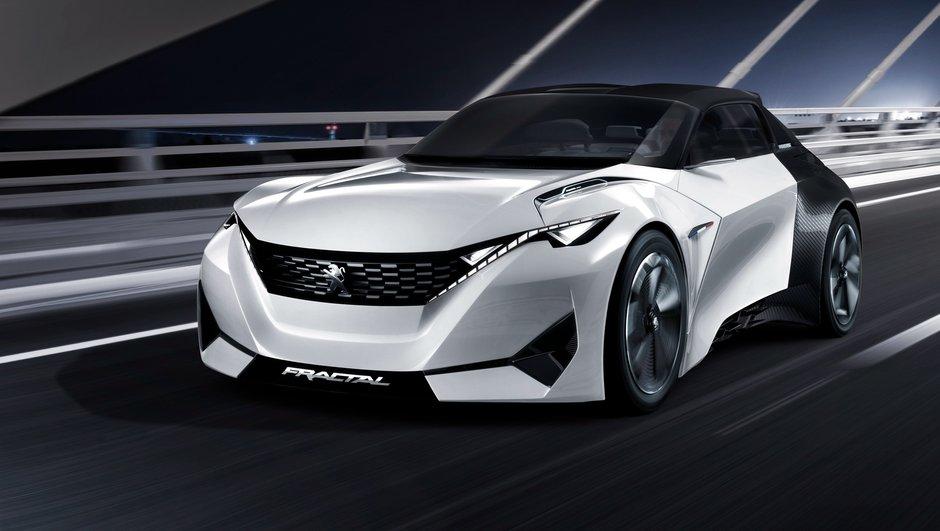 Peugeot Fractal Concept 2015 : vidéos et photos officielles avant Francfort