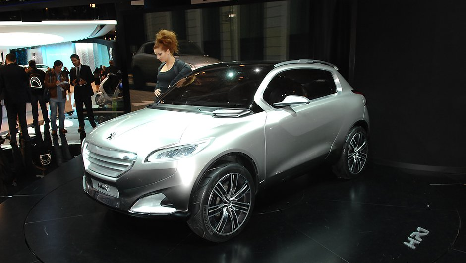 Peugeot HR1, un concept techno-urbain au Mondial de l'Auto