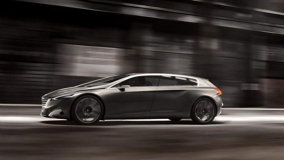 Peugeot HX1 Concept : du luxe au Salon de Francfort 2011