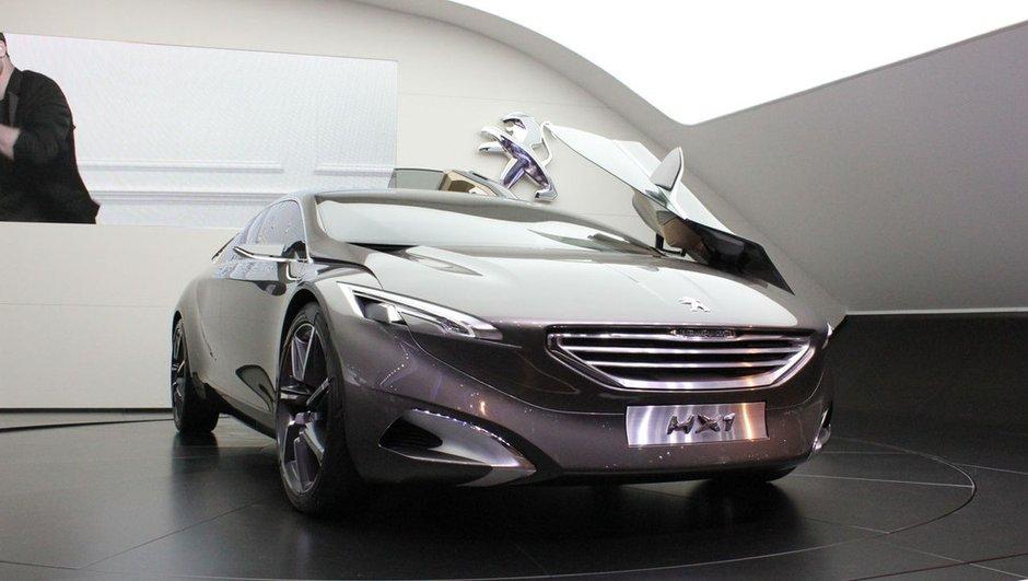 Salon de Francfort 2011 : Peugeot HX1 Concept, vision de luxe