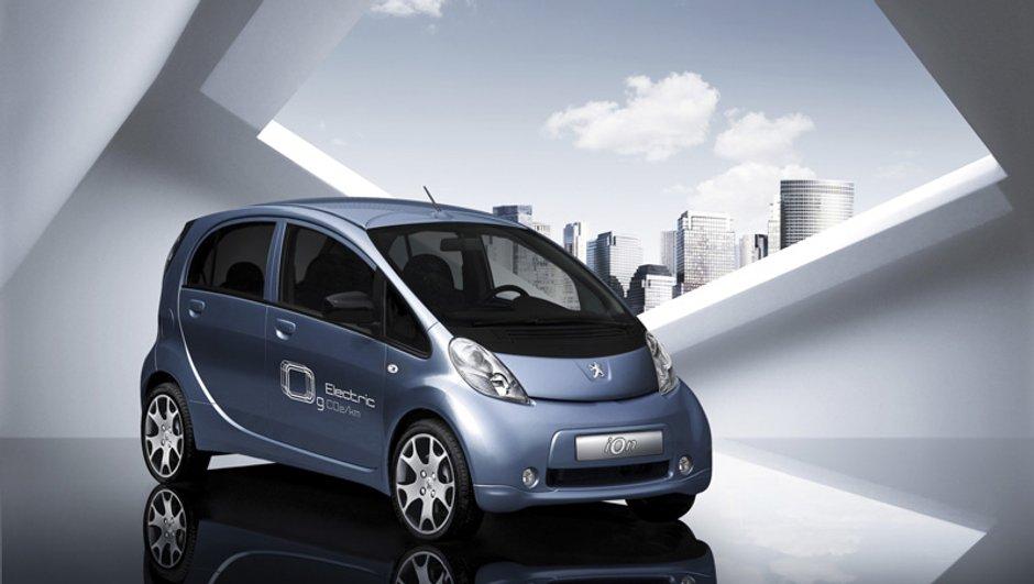 La Peugeot iOn dans les moindres détails