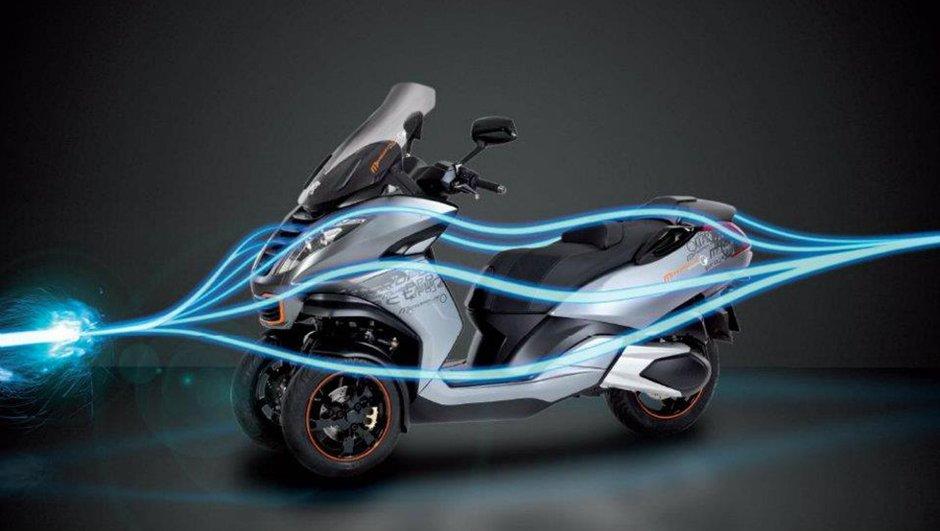Salon de Milan : Peugeot Metropolis Project, le scooter 3 roues