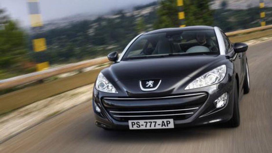 Le coupé Peugeot RCZ disponible à la commande