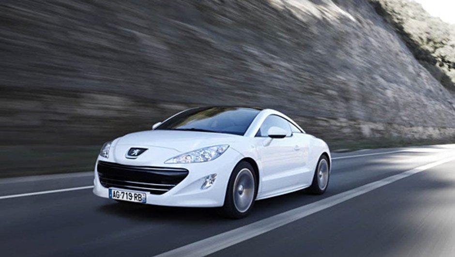 """La Peugeot RCZ lancée en gamme """"Hors Série"""""""