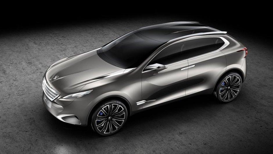 Peugeot SxC Concept : luxueux crossover au lion