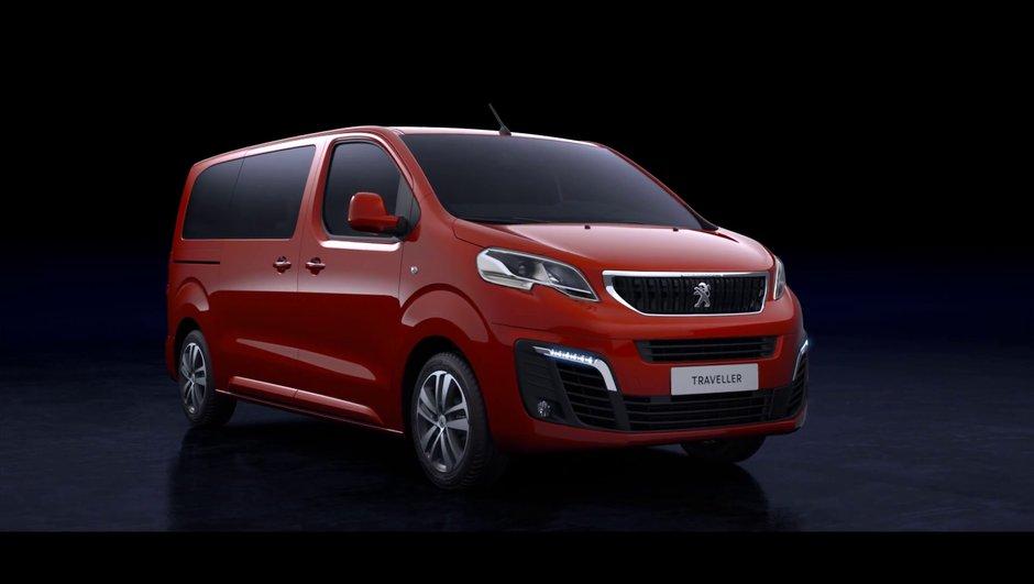 Peugeot Traveller, Citroën Space Tourer et Toyota ProAce : les utilitaires 2016 se montrent