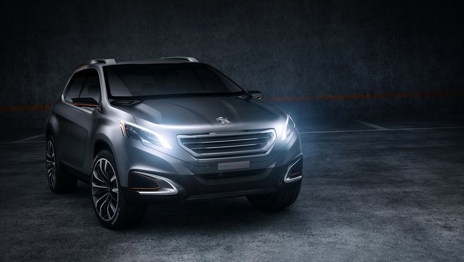 Salon de Pékin 2012 : Peugeot Urban Crossover Concept