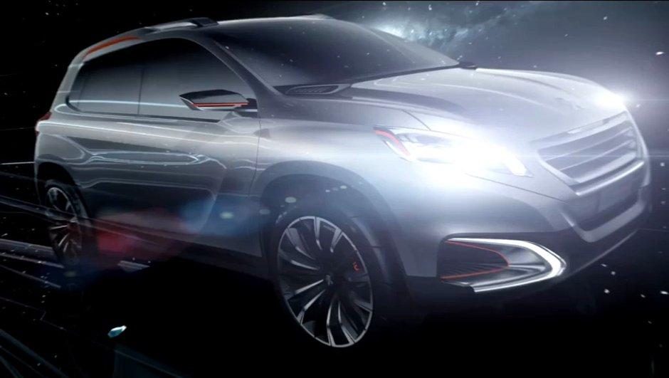 Vidéo : Peugeot Urban Crossover Concept en mouvement