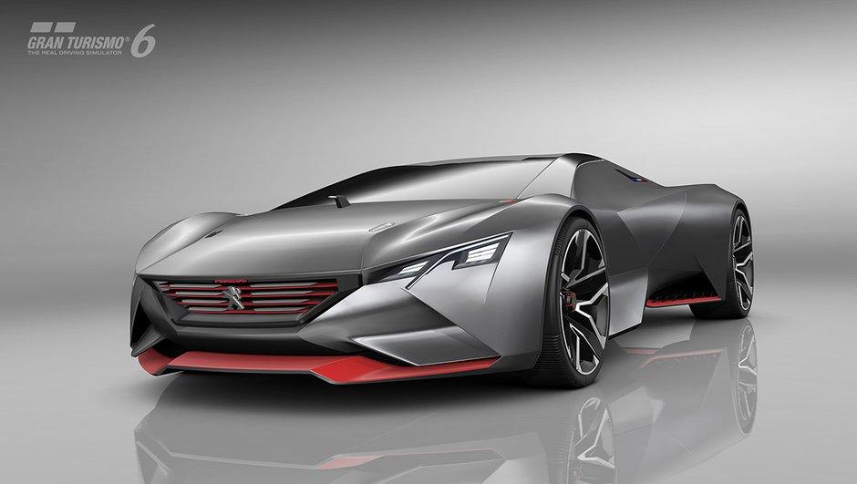 Peugeot Vision GT : le concept-car est disponible dans Gran Turismo 6