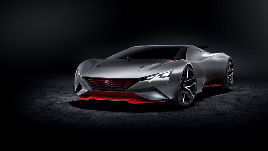 Peugeot Vision GT Concept 2015 : 875 chevaux en furie virtuelle