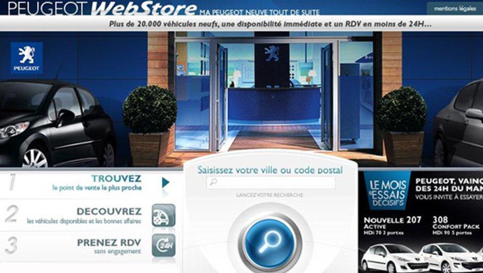 Peugeot met sa 607 en vente flash sur le webstore