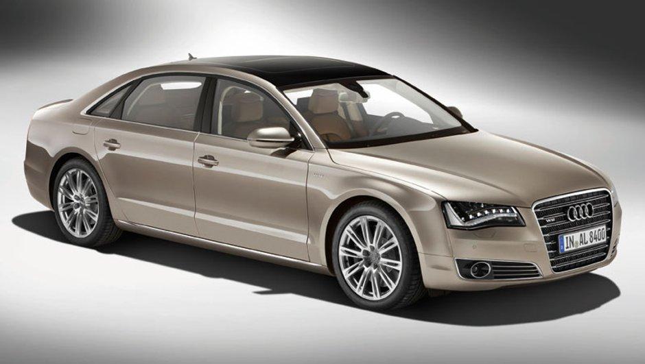 Audi A8 L, un véritable vaisseau !