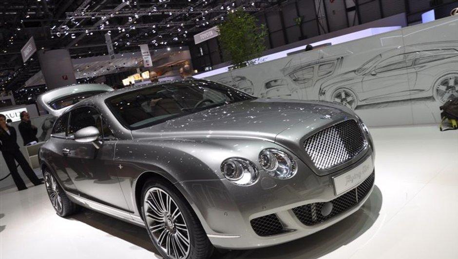 Salon de Genève 2010 : Bentley Continental Flying Star par Touring