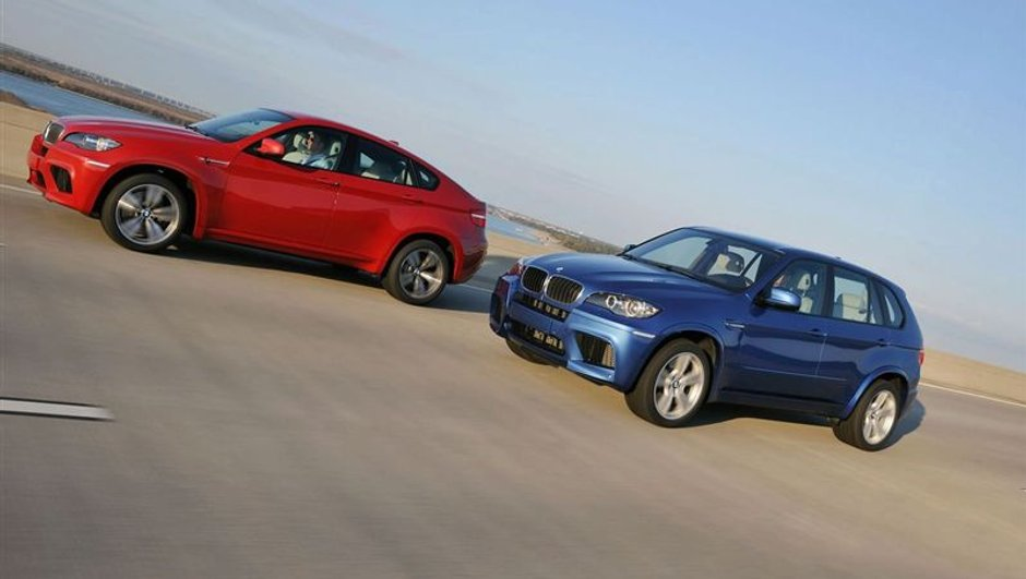 BMW X5 et X6 M : des SUV surpuissants !