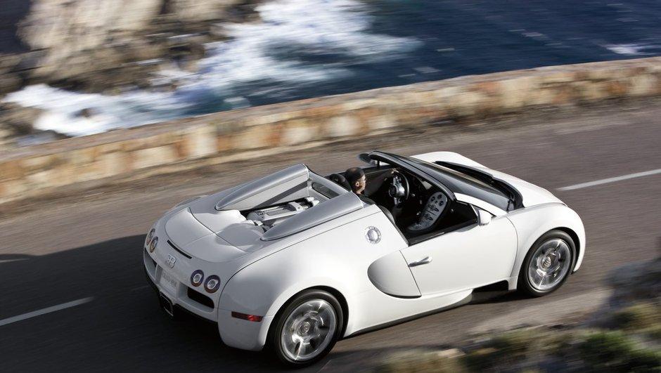 Bugatti Veyron Grand Sport : Toit détachable