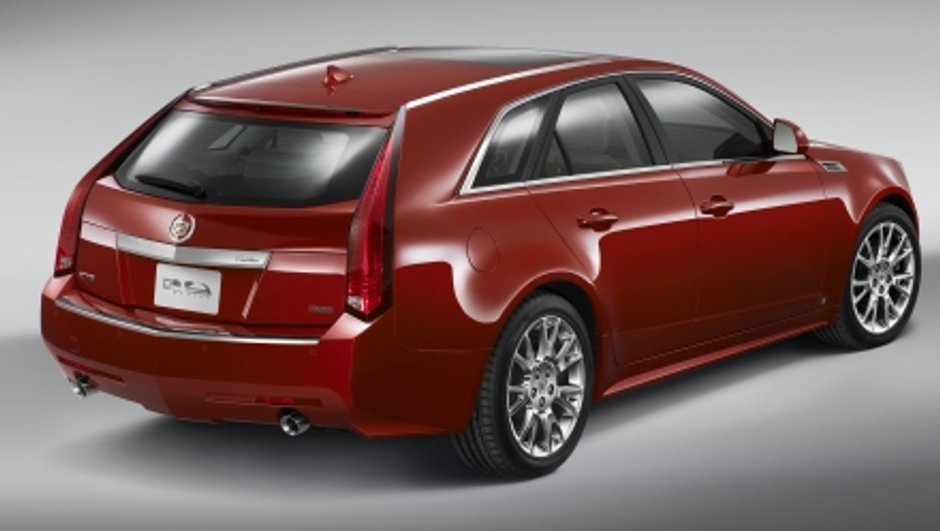 Cadillac CTS Sport Wagon : Break de luxe