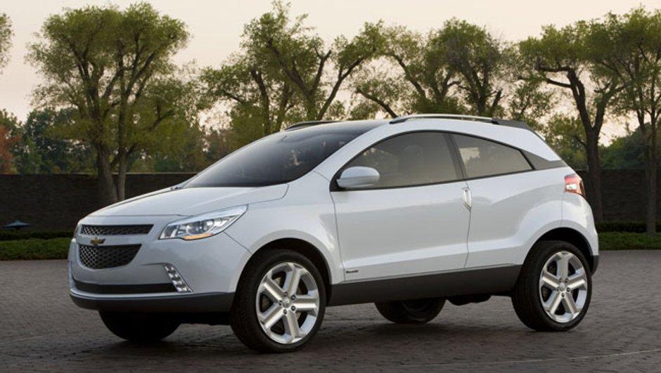 Chevrolet GPiX: Le Crossover passe partout