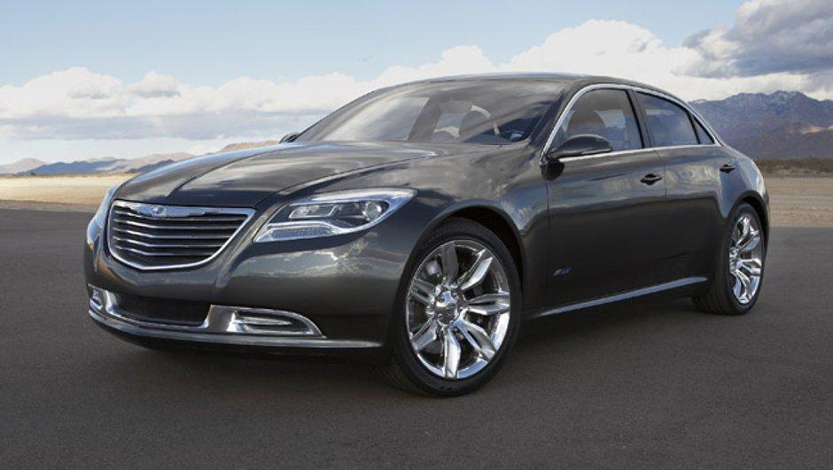 Chrysler 200C EV Concept : La sportive électrique