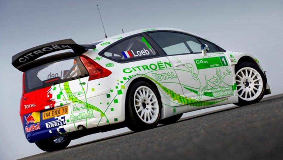 Citroën C4 WRC HYmotion4: L'hybride de compétition