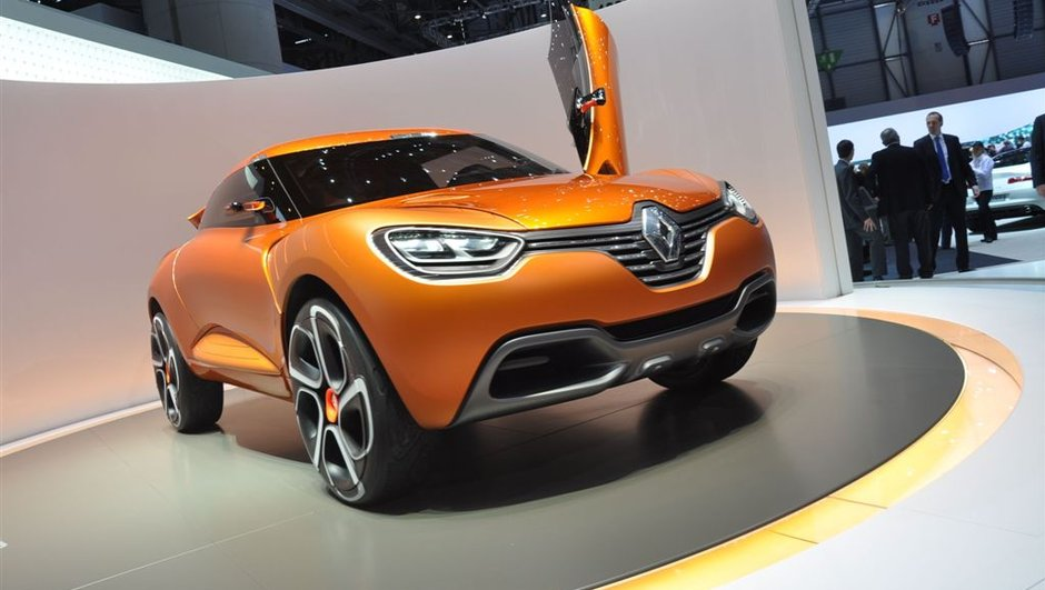Renault : 2 futurs crossovers pour 2013