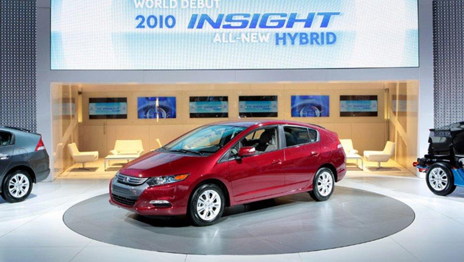 Honda Insight : l'Hybride s'améliore !