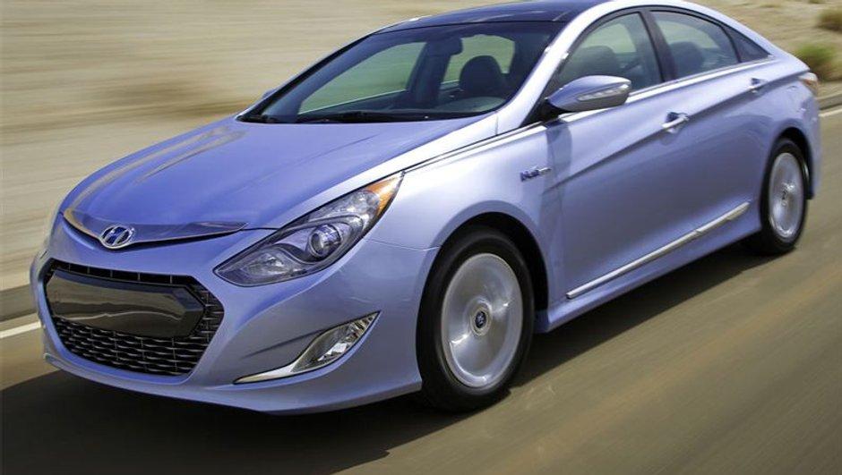 Voici la Hyundai Sonata version hybride !