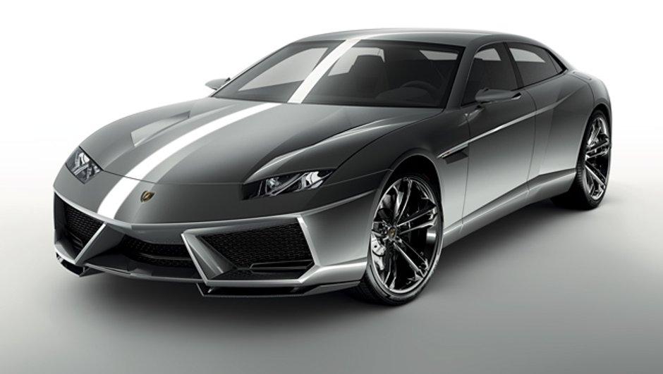 Mondial de l'Auto 2008 : Lamborghini Estoque, rivale de la Panamera ?