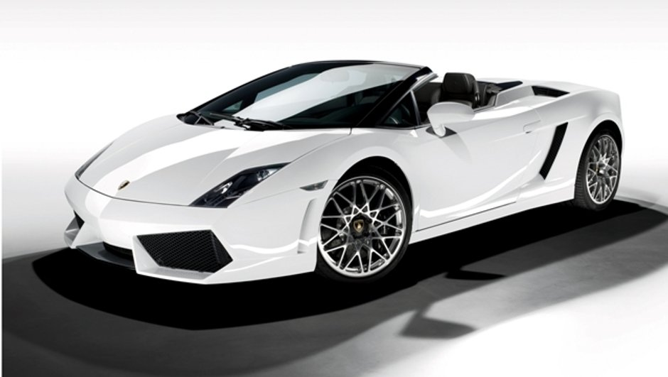 Los Angeles: la Gallardo LP 560-4 retire le haut