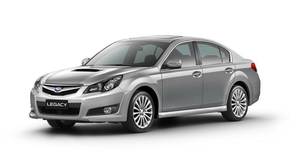 Salon de Francfort 2009 : Subaru Legacy et Legacy Outback