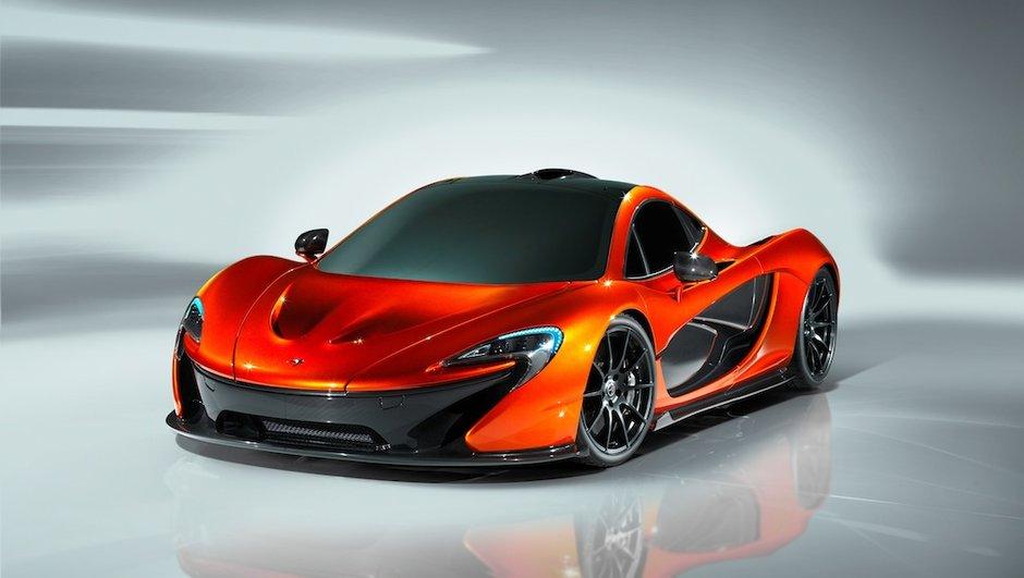 Mondial de l'Auto 2012 : McLaren présente sa P1