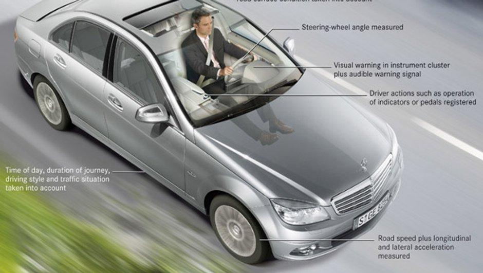 Mercedes : une assistance anti-fatigue de série