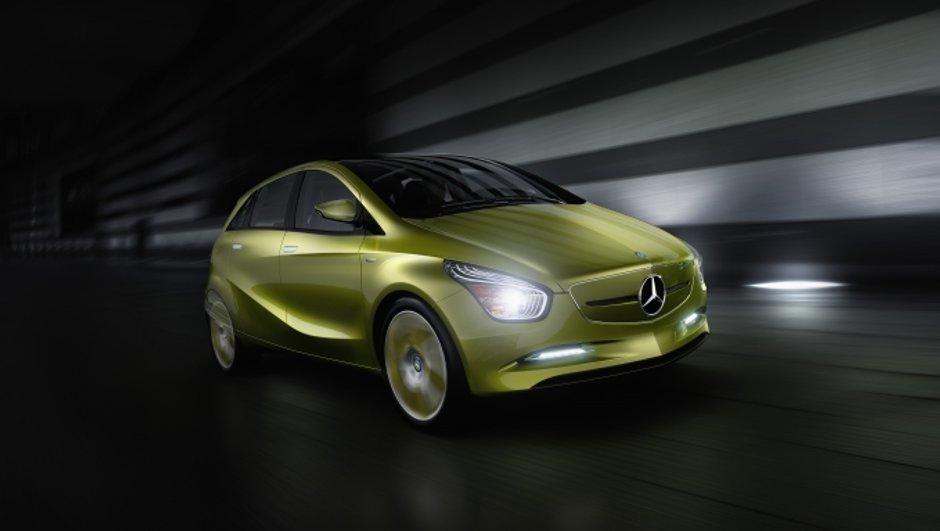 BlueZero : Le concept électrique de Mercedes