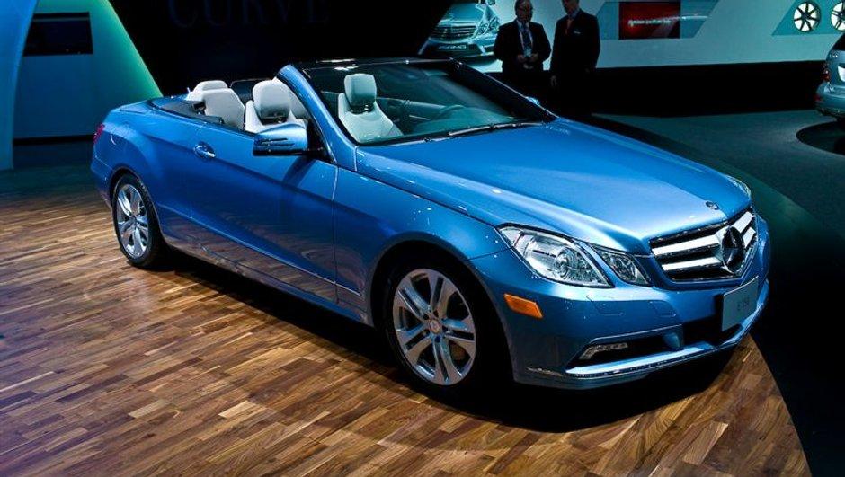 Salon de Detroit 2010 : La Mercedes Classe E Cabriolet présentée au public