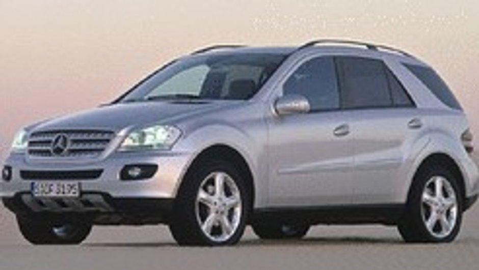 Mercedes ML 320 Bluetec : Roulez au diesel !