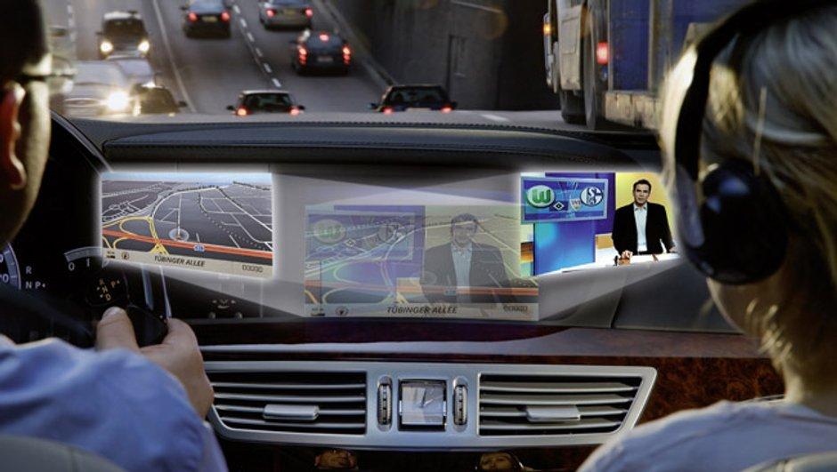 Mercedes Splitview: l'écran de console high-tech