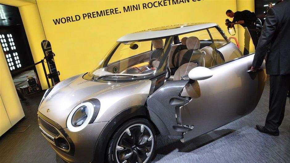 Salon de Genève 2011 : Mini Rocketman Concept, une Mini encore plus Mini !